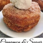 Cinnamon & Sugar Puff Pastry Cronuts