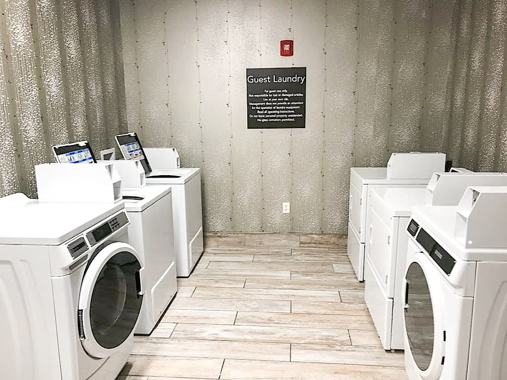 Guest Laundry room at Homewood Suites