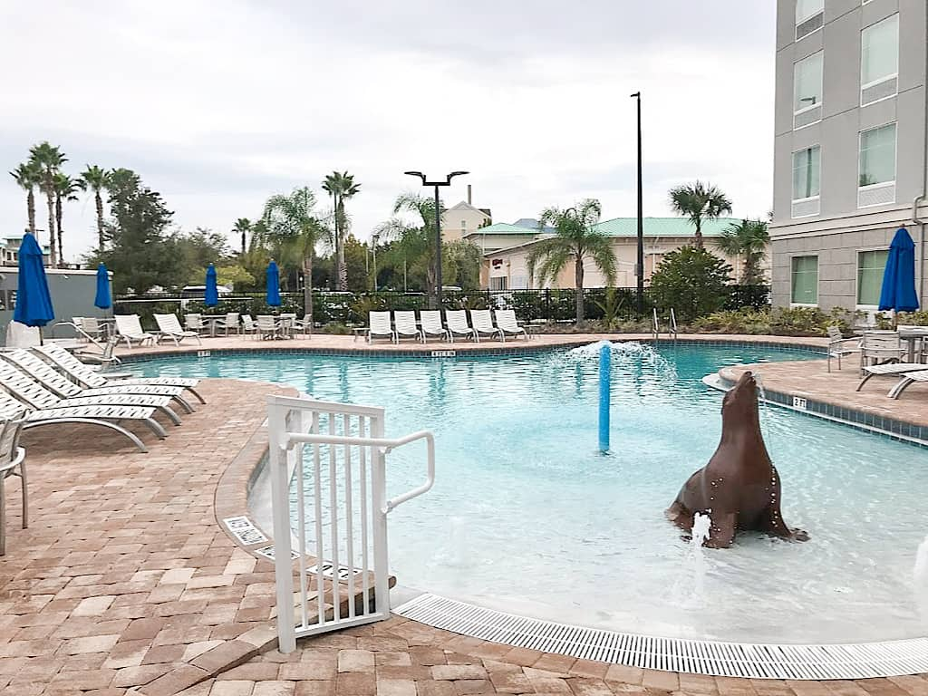 Homewood Suites Orlando Theme Parks Outdoor Pool