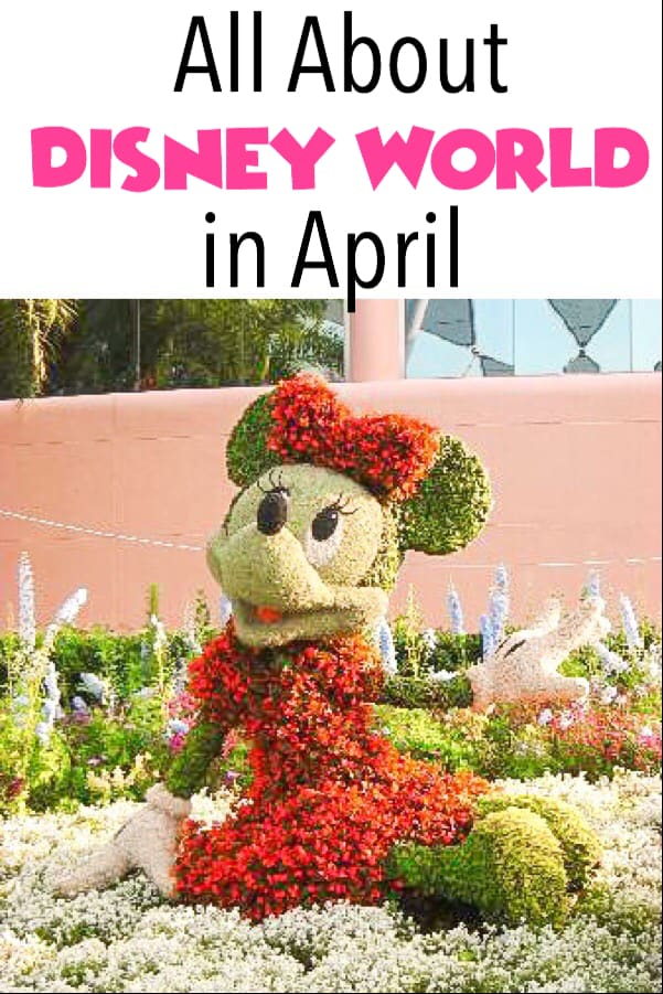 All About Disney World in April