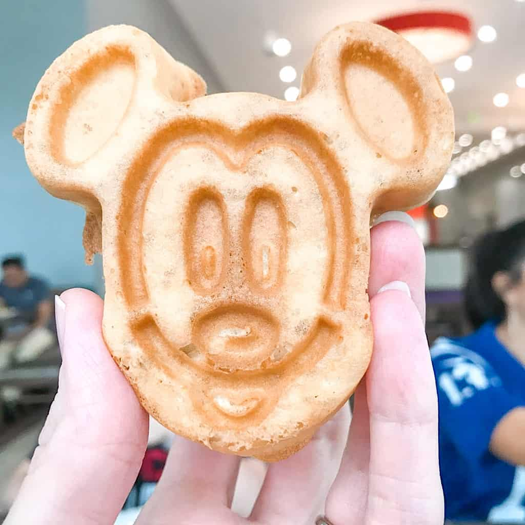 Mickey Waffle from Homewood Suites
