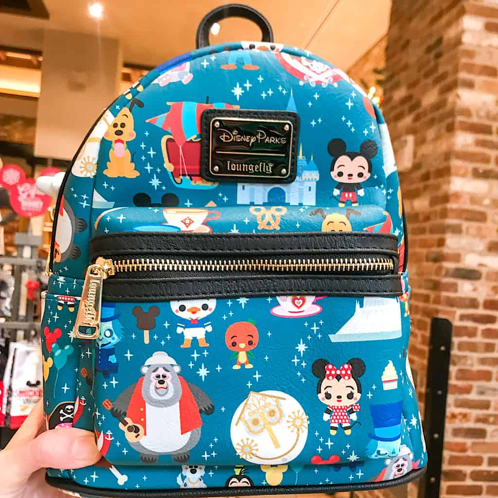Disney-themed Loungefly Mini Backpack