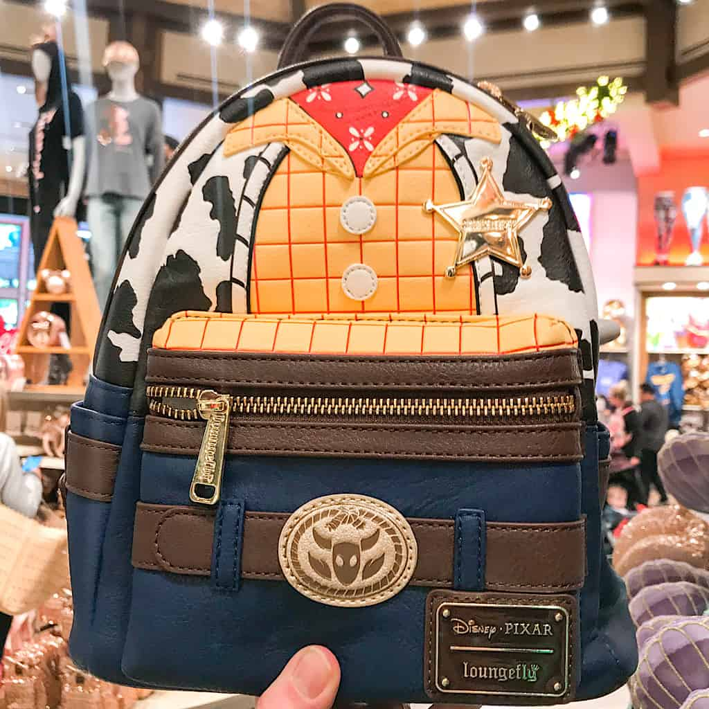 Woody the Cowboy themed Loungefly Backpack