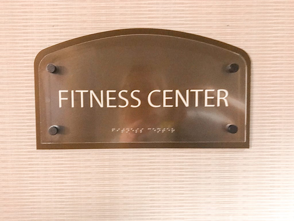 Fitness Center Knott's Berry Farm Hotel
