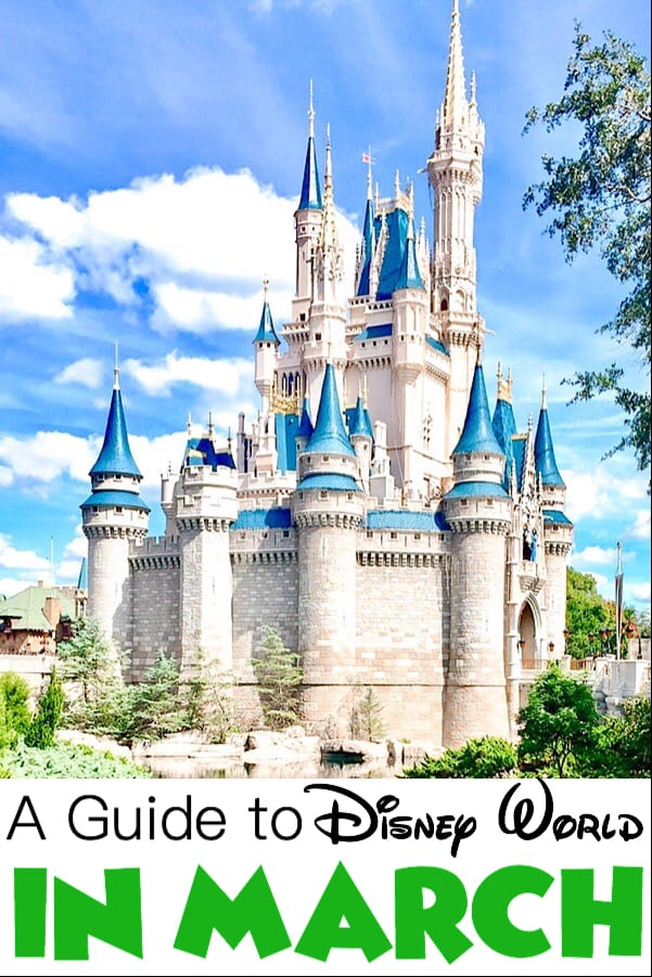 A Guide to Disney World in March