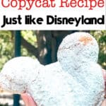 Mickey Beignets Copycat Recipe Just like Disneyland