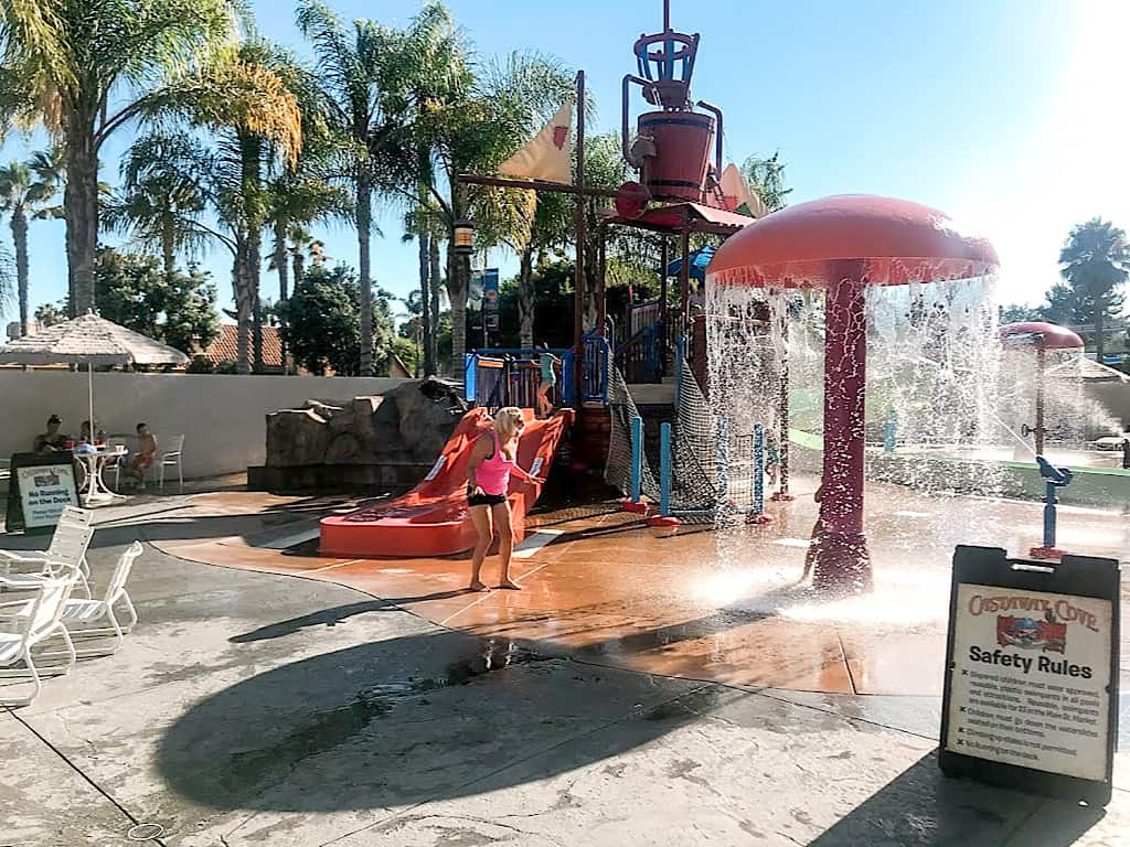 Water Playground at Ho Jo Anaheim