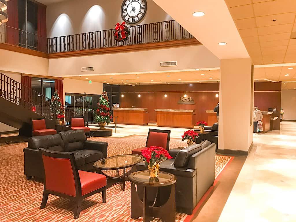 Knott's Berry Farm Hotel Lobby