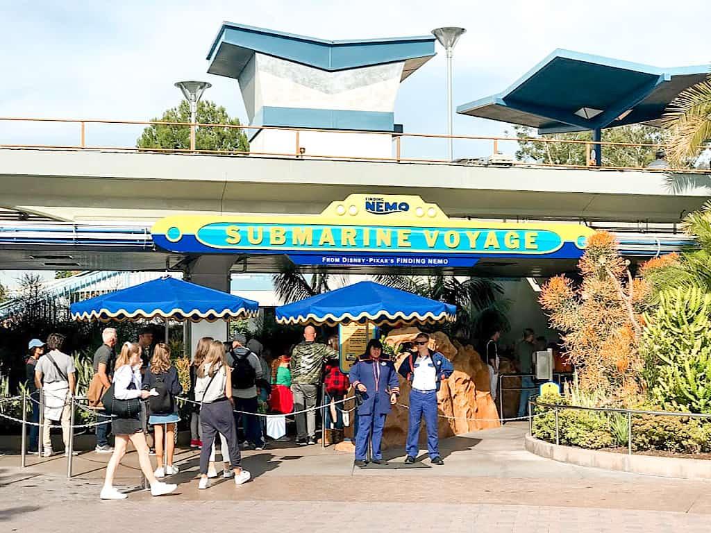 Finding Nemo Submarine Voyage Disneyland