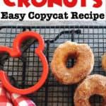 Disney World Cronuts Easy Copycat Recipe