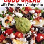 Protein-Packed Cobb Salad with Fresh Herb Vinairgrette