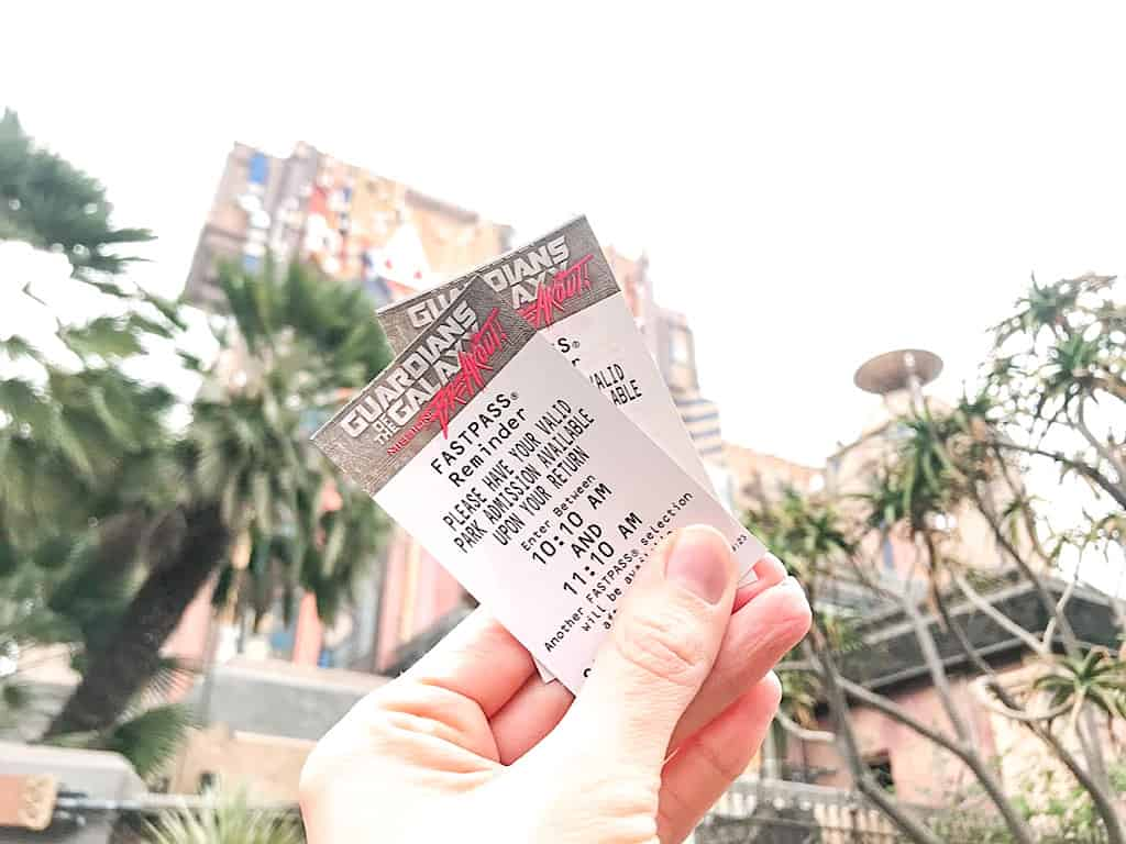 Guardians of the Galaxy Fastpass
