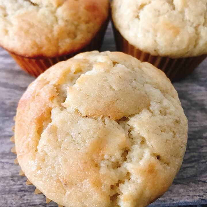 Banana Cream Muffins