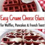 Easy Cream Cheese Glaze