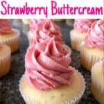 The Best Strawberry Buttercream