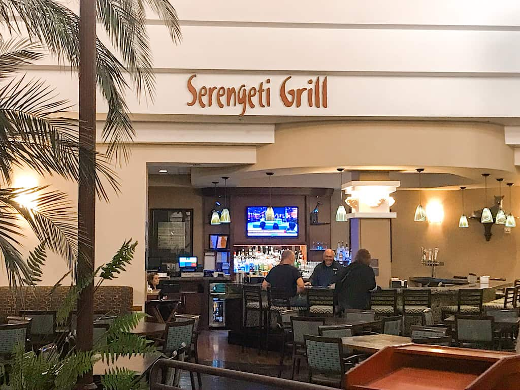 Serengeti Grill Inside Embassy Suites Anaheim South