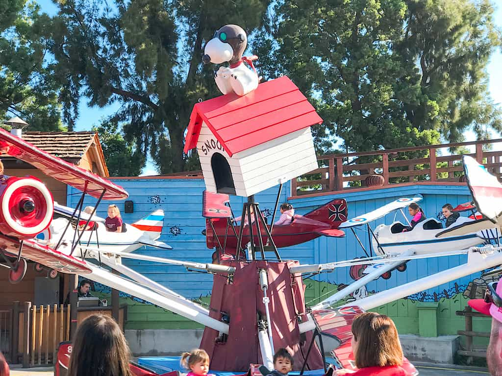 Flying Aces at Camp Snoopy