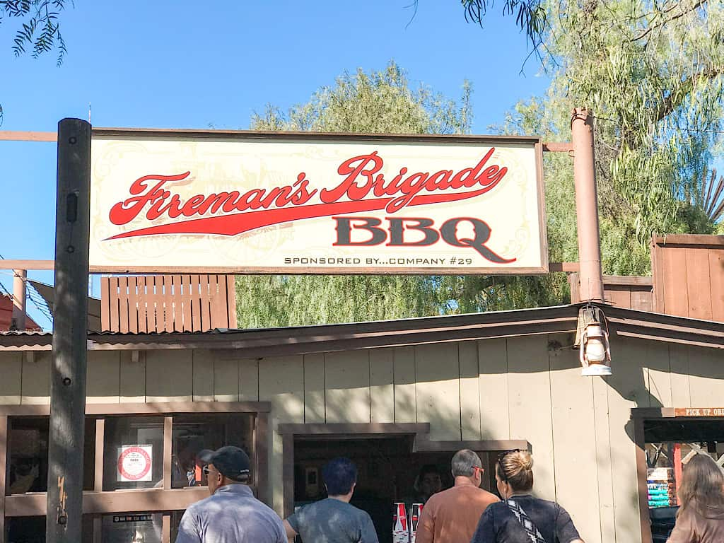 Fireman's BBQ Restaurant at Knott's Berry Farm