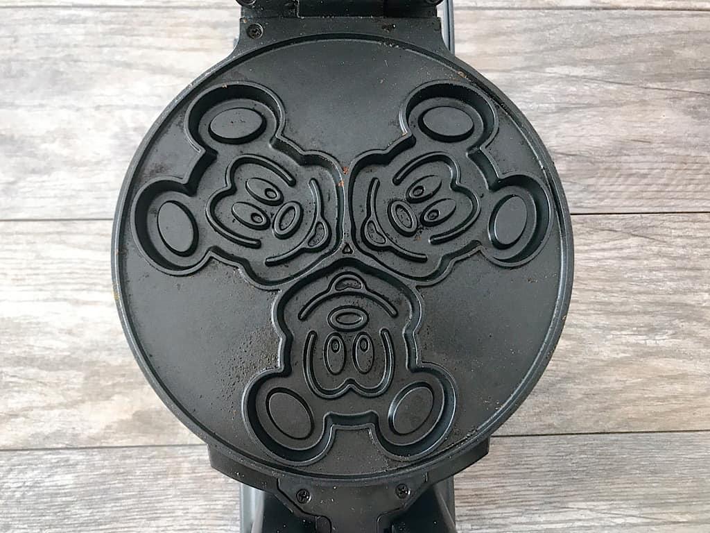 Mickey Mouse Waffle Iron