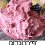 Perfect Strawberry Frosting