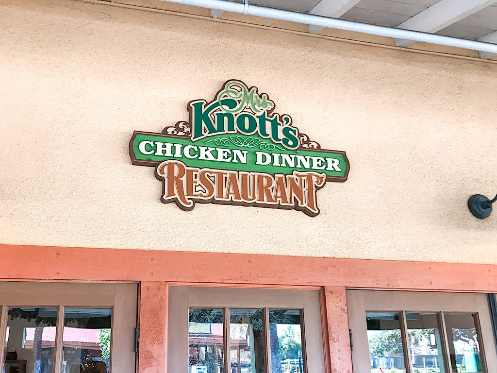 Mrs. Knott's Chicken Dinner Restaurant at Knott's Berry Farm