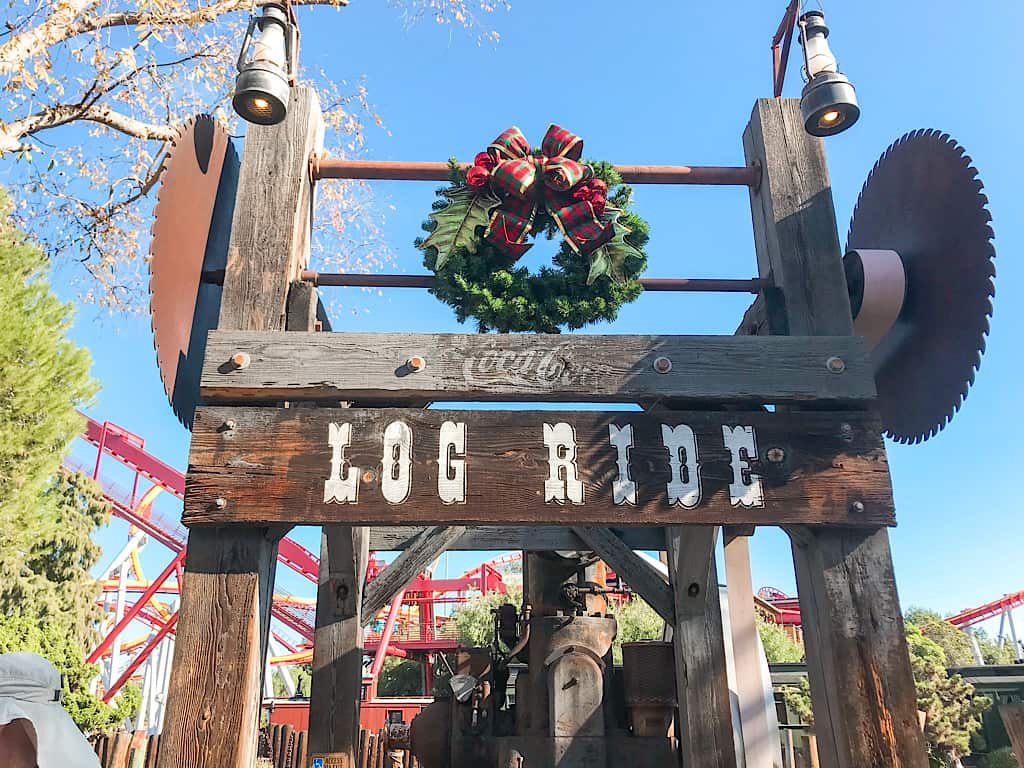 Log Ride for kids at Knott's Berry Farm