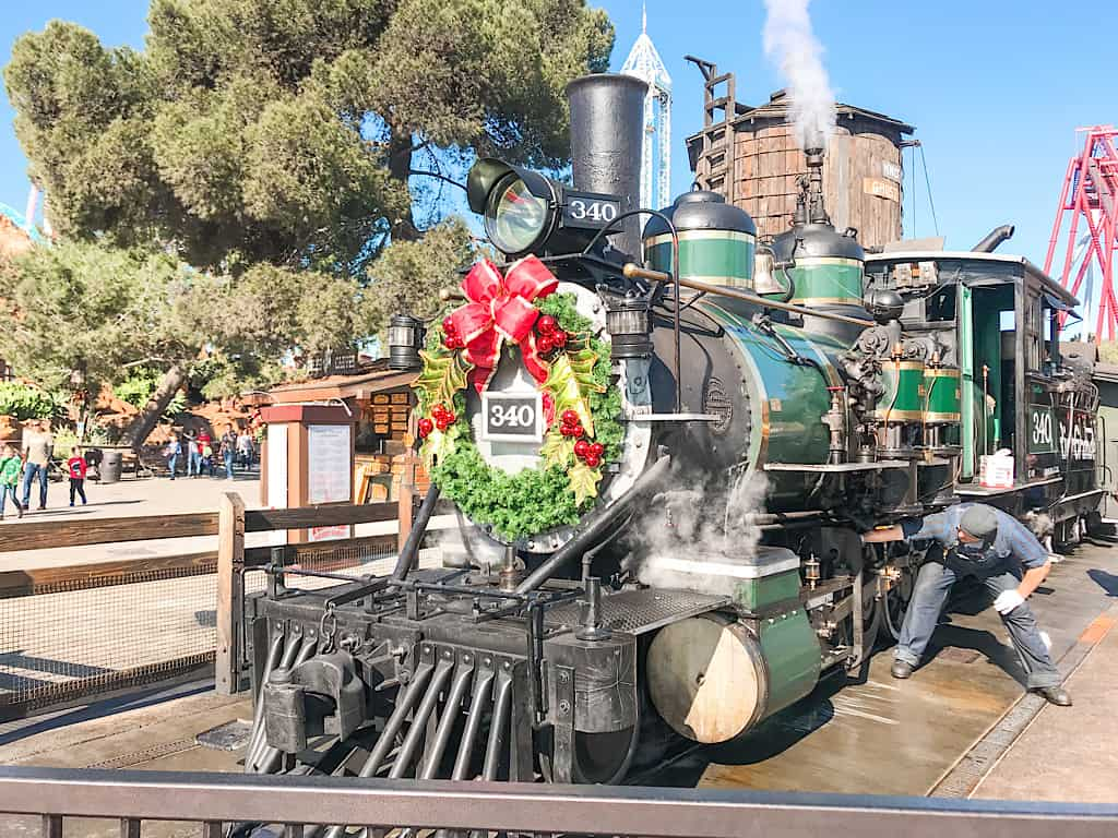 Train at Knott's Berry Farm