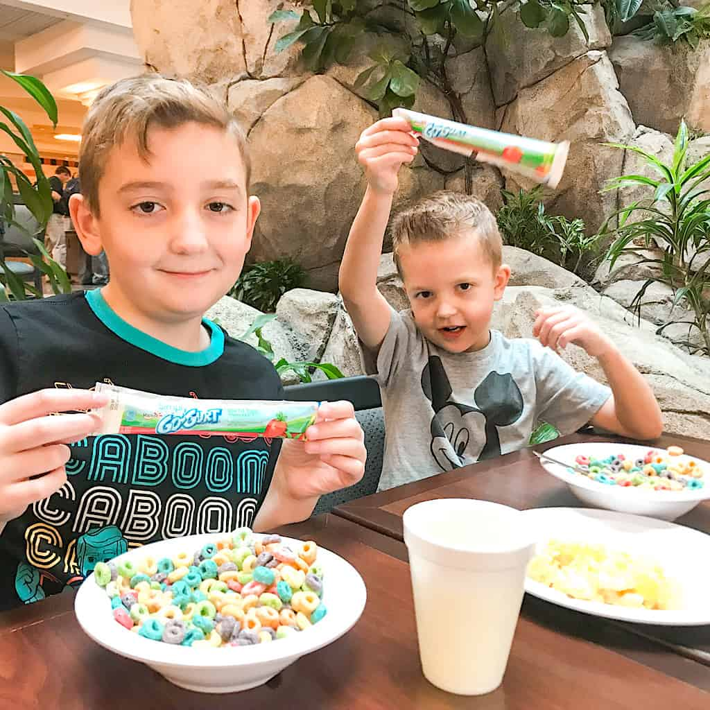 Breakfast at Embassy Suites Anaheim South