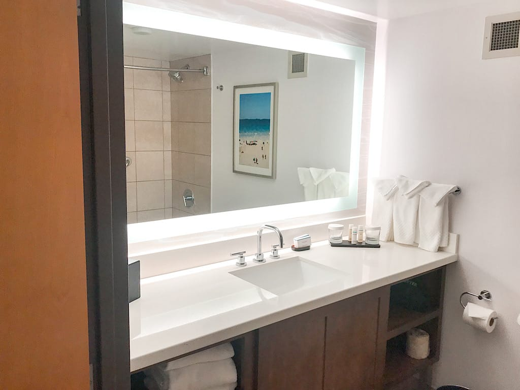 Bathroom at Embassy Suites