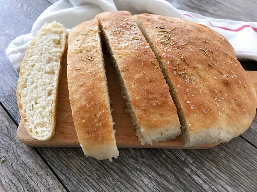 Slices of Macaroni Grill Rosemary Bread