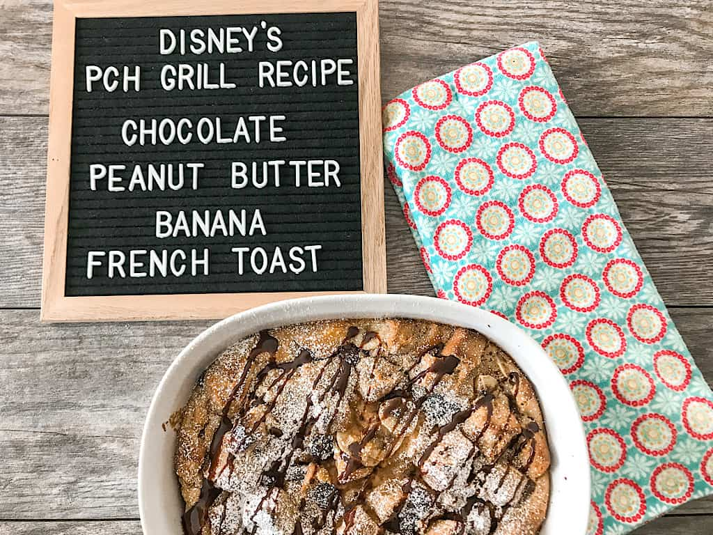Disney French Toast Bake