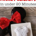 How to Make Mickey Beignets in under 20 minutes!