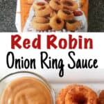 Red Robin Onion Ring Sauce