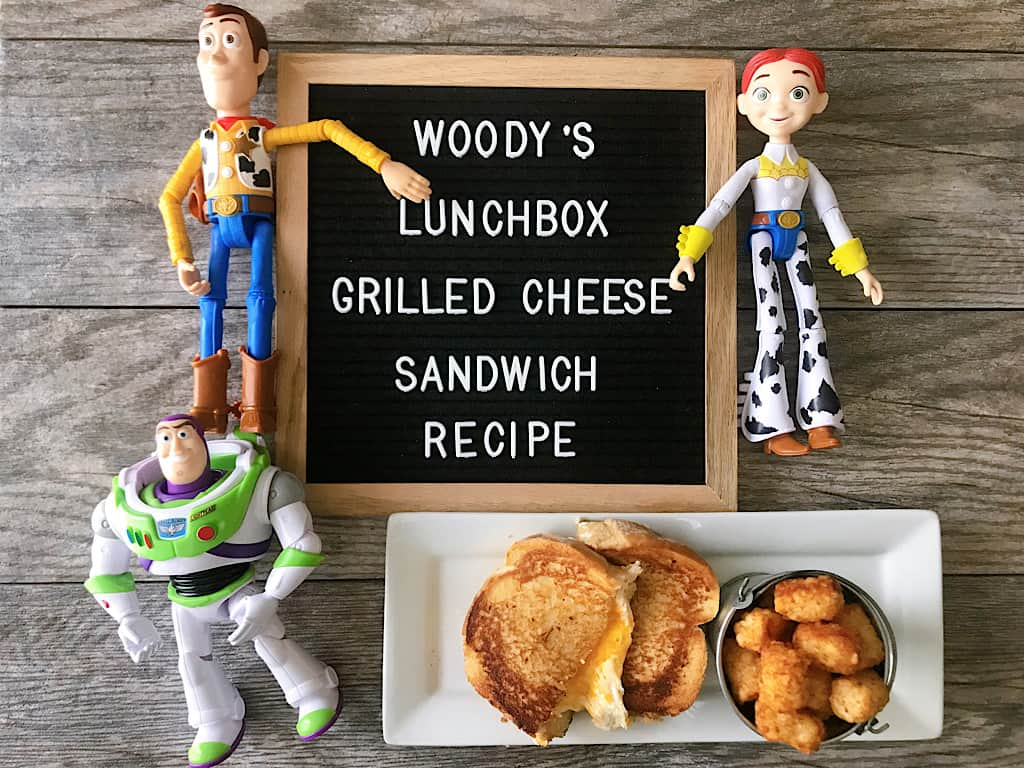 Woody's Lunchbox Grilled Cheese Sandwich Recipe
