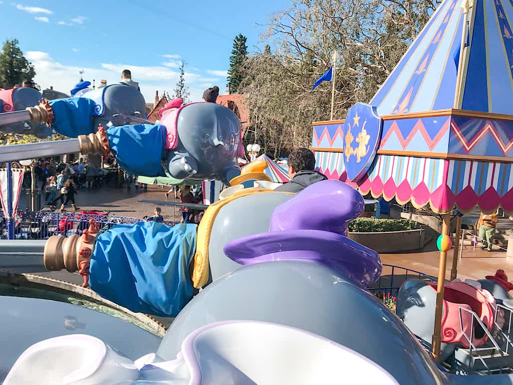 Dumbo the Flying Elephant Ride at Disneyland