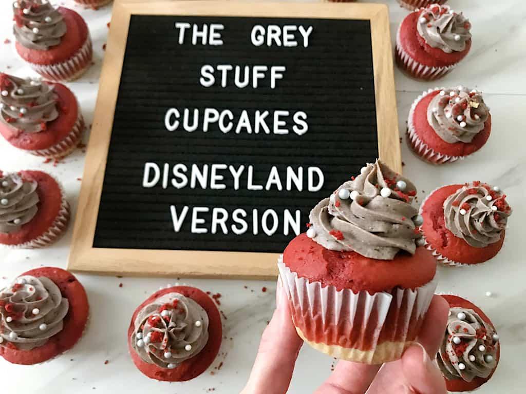 The Grey Stuff Cupcakes Disneyland Version