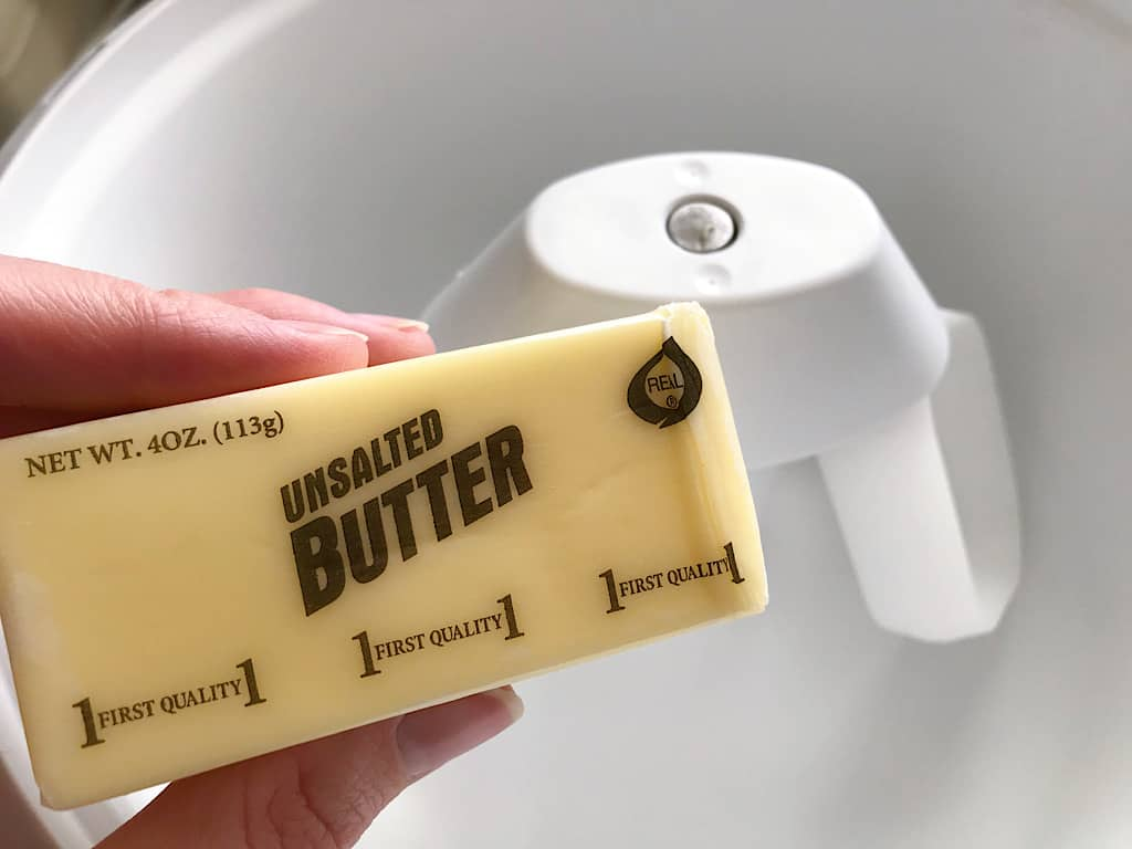 Butter for sugar cookie layer