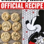 Disney's Grand Floridian Chocolate Chip Cookies Official Recipe