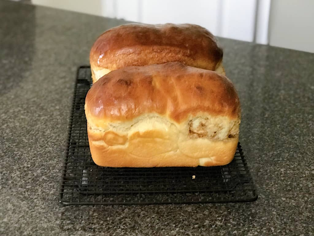 Remove the pan from the oven and allow to cool on a cooling rack for 15 minutes, before removing the loaf to continue cooling.