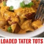 Loaded Tater Tots Make at Home Disney Recipe