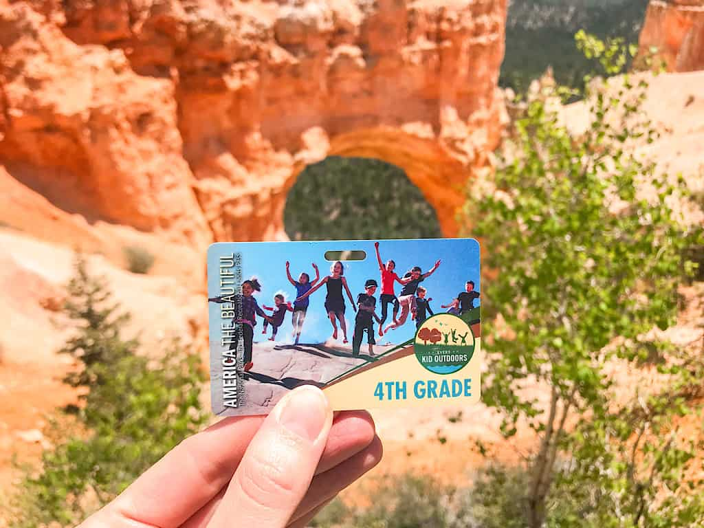 Fourth Grader National Parks Pass