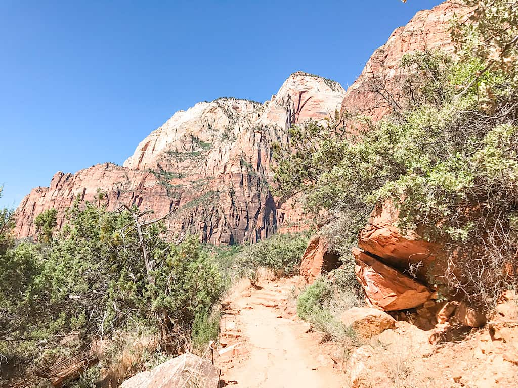 Emerald Pools Trail in Zion