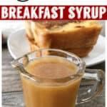 Caramel Breakfast Syrup