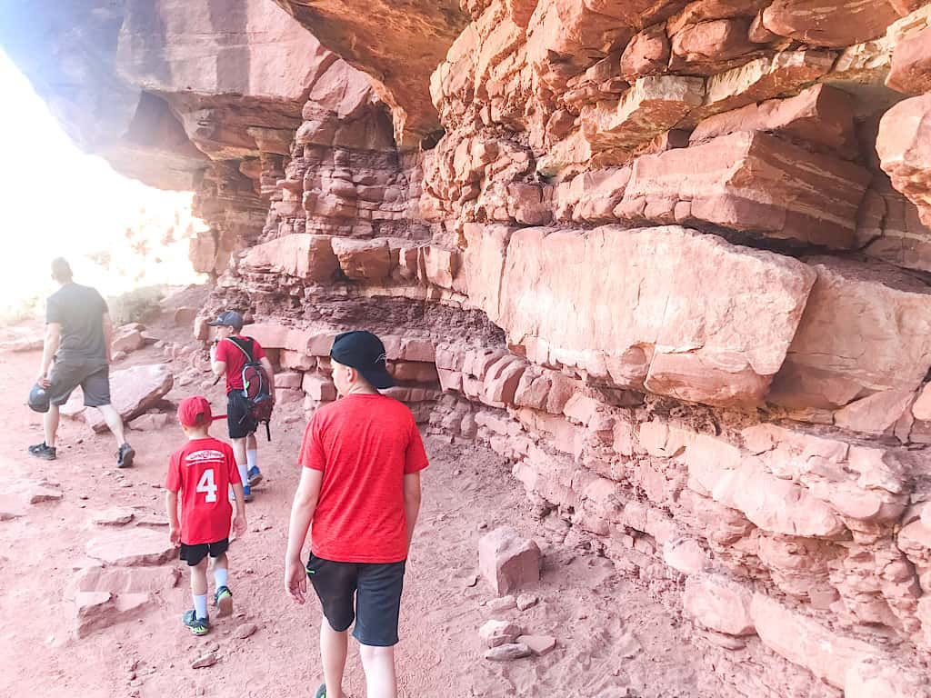 Hiking Watchman Trail in Zion National Park with Kids