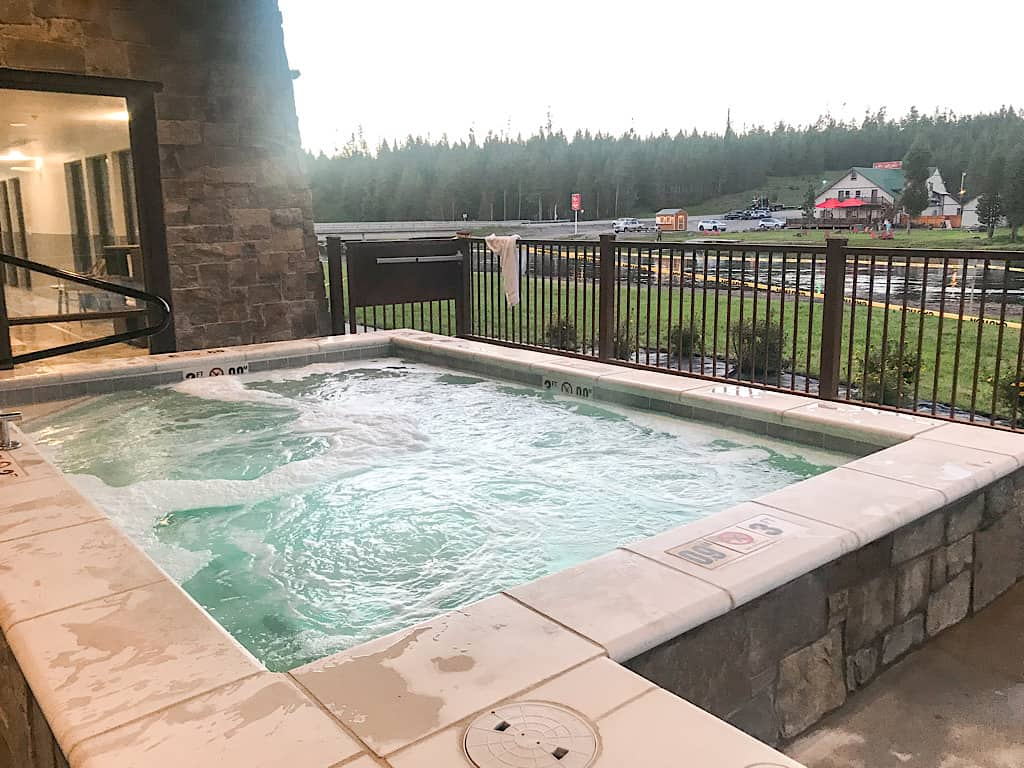 Hot tub at Springhill Suites Island Park, Idaho