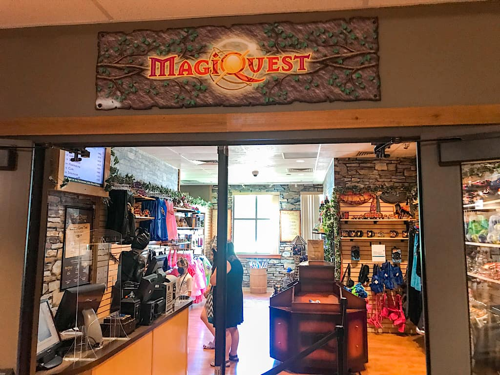 MagiQuest store at Great Wolf Lodge Grand Mound, Washington