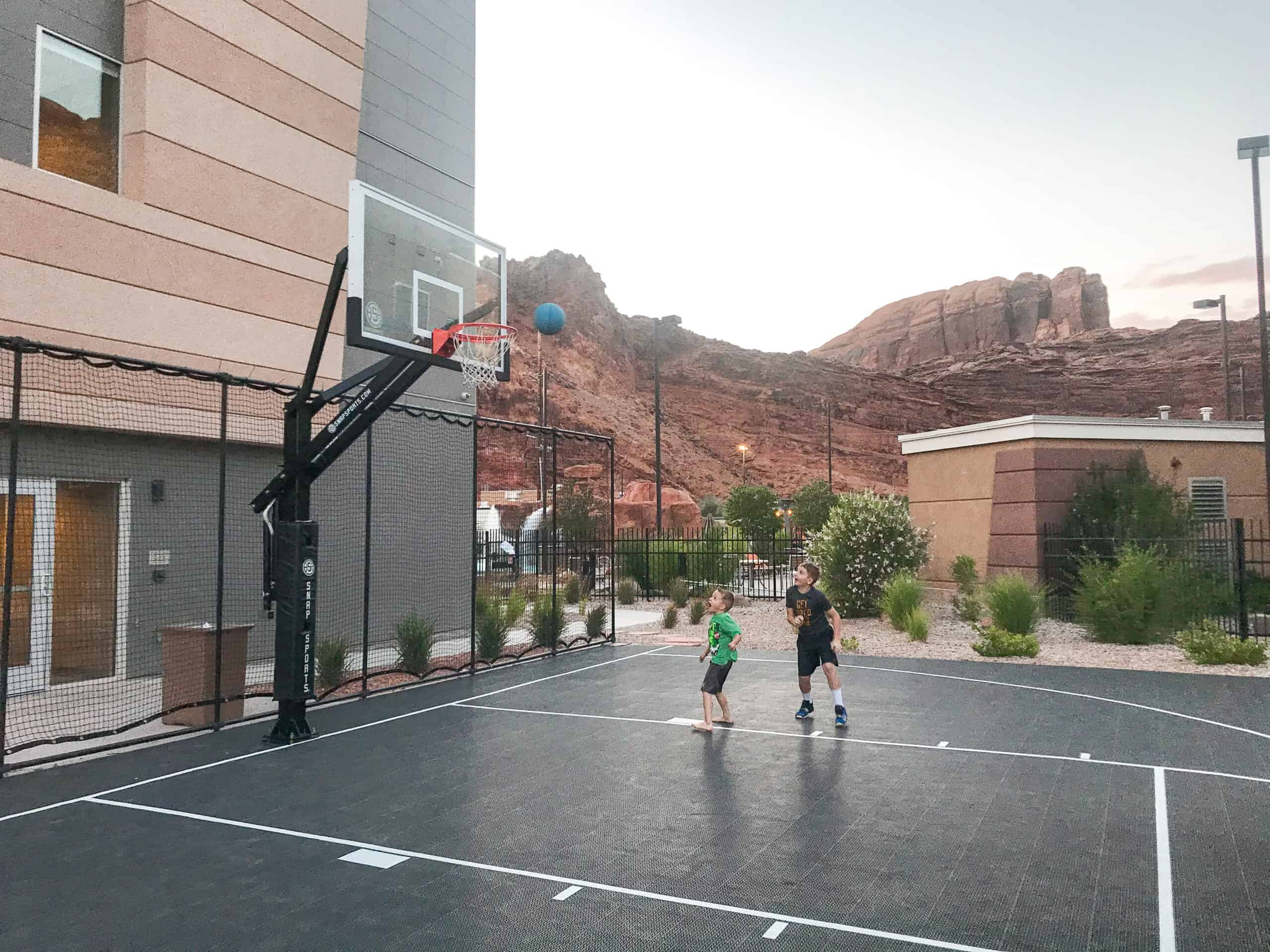 Basketball Court at Springhill Suites in Moab, Utah