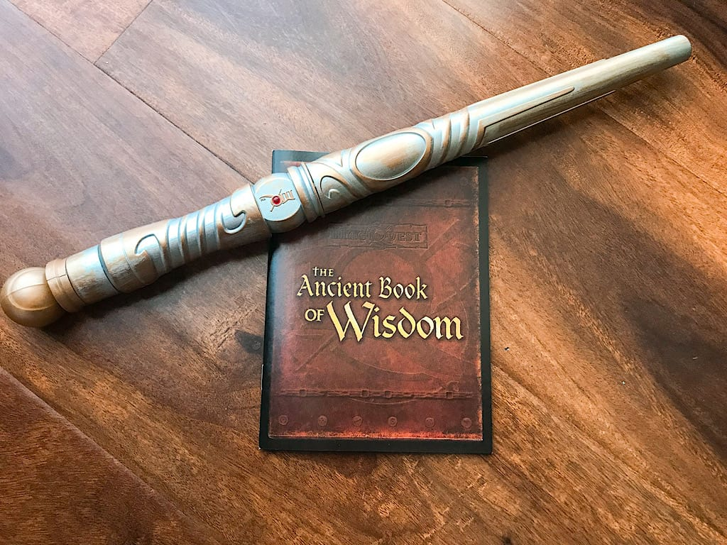 MagiQuest Wand and book