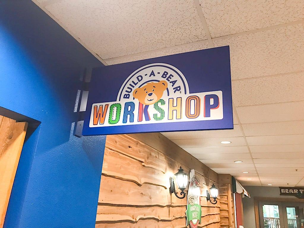 Build a Bear Workshop inside Great Wolf Lodge Washington