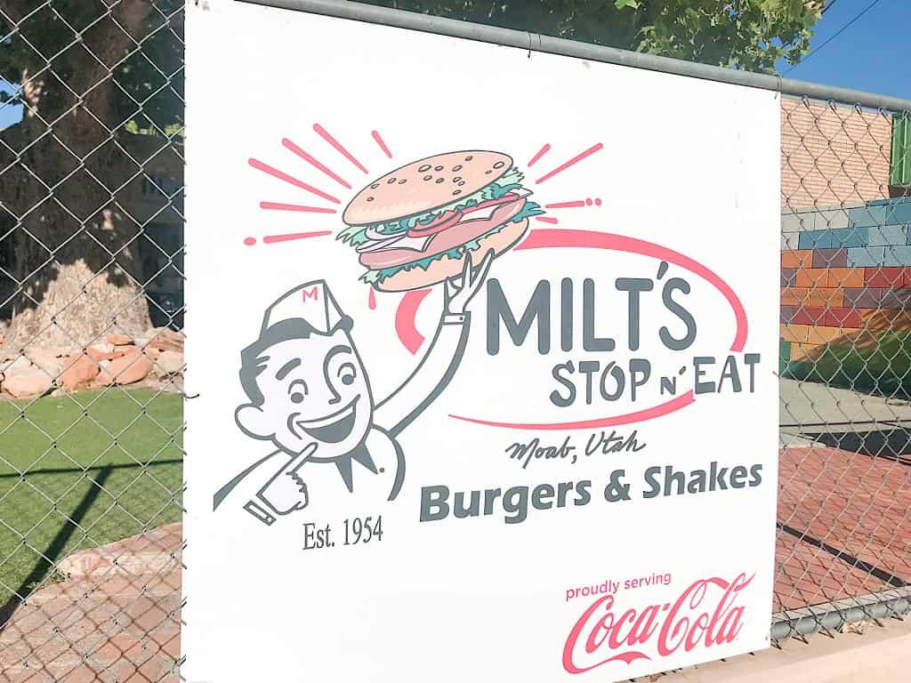 Milt's Stop & Eat in Moab, Utah